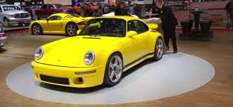 porsche ruf yellowbird 2017 ruf ctr borrows infamous yellowbird look skips 911 chassis
