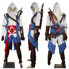 edward kenway costume assassin s creed 3 iii connor kenway costume jacket toys