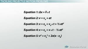 projectile motion definition and examples video u0026 lesson