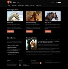 free website templates dreamweaver 250 free responsive html5 css3 website templates html5 template for horse club with jquery slider and zoomer effect it provides you effective layout professional design and coding everything that you