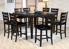 counter high dining room sets urbana 7pc cherry counter height dining set 74630