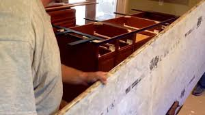 installing kitchen island cambria bradshaw quartz countertop kitchen island install