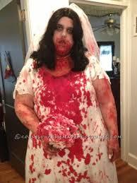 Zombie Bride Groom Halloween Costumes Coolest Homemade Dead Groom Bride Costumes