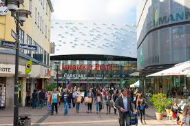 Shopping In Germany Shopping Mall In Essen Germany Editorial Photography Image Of