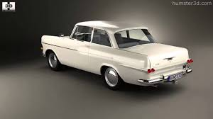 1970 opel 4 door opel rekord p2 2 door sedan 1960 by 3d model store humster3d com