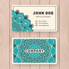 Funny Personal Business Cards Gold Corporate Business Card With Smoke Line Style Vector