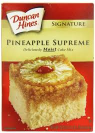 amazon com duncan hines signature pineapple cake mix 16 5 ounce