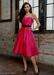 bright pink and black bridesmaid dresses naf dresses