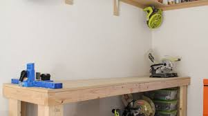 how to build a wooden workbench make