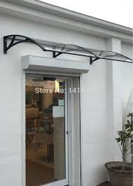 Homemade Window Awnings Diy Metal Window Awnings Curved Slats Aluminium Diy Exterior