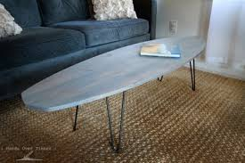 Surfboard Coffee Table 16 Beachy Surfboard Decorating Ideas
