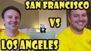 san francisco travel vs los angeles travel yellow productions