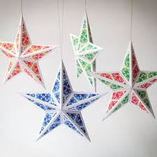diy ornaments set of 6 from paperica on etsy