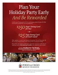 fogo de chao makes headlines in consumer reports amy evans hmcc our private rooms are a great alternatives for morning afternoon and full day meetings 303 763 0668 denverevents fogo com 1513 wynkoop street