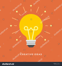 Idea Website Flat Design Vector Business Illustration Concept Stock Vector