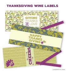 thanksgiving labels thanksgiving wine labels lia griffith
