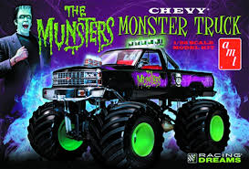 house fun stuff munsters chevy monster truck