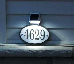 light up address sign light up address signs best hanging images on plaque and black