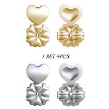 gold earring backs 18k gold hypoallergenic support earring backs ecom store