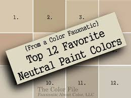 from a color fauxnatic top 12 favorite neutral paint colors the
