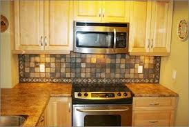 slate backsplash in kitchen terrific slate tile backsplash pictures kithen backsplash