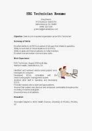 monitor tech resume resume sles ekg technician resume sle