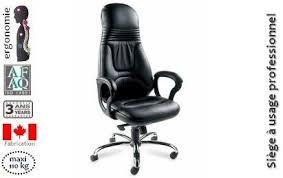 fauteuil de bureau haut de gamme fauteuil haut dossier cuir