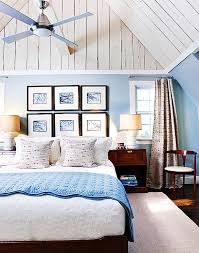 Fantastic Bedroom Color Schemes - Blue and white bedrooms ideas