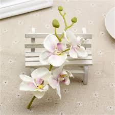 orchid bouquet 10pcs lot silk artificial orchid bouquet for home wedding party