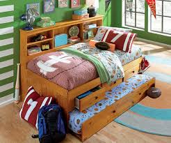 Full Size Trundle Bed Bedroom Captains Beds With Trundle Captains Bed With Trundle