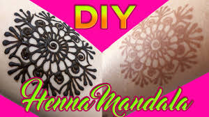 henna learning easy way henna diy quick and easy mandala