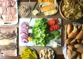 night before thanksgiving bar how to create a build your own sandwich bar for a crowd large