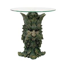 greenman glass top altar table 20 5 inches wicca pagan