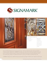 Full View Exterior Glass Door by Signamark Exterior Door Catalog