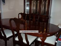 Dining Room Sets With China Cabinet Thomasville China Cabinet Breakfront Mahogany Dining Room Art