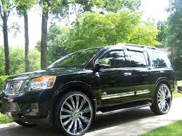 nissan pathfinder armada se off road sport utility 4d view all