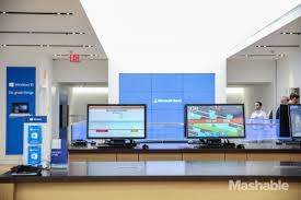 inside microsoft u0027s first flagship store