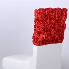 rosette chair covers rosette chair cap 16 inch x 14 inch