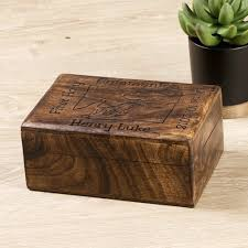personalized keepsake boxes personalized communion wooden keepsake box the catholic
