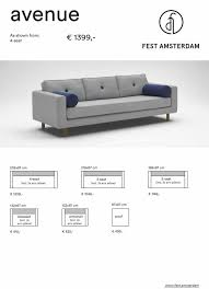 banc canape amsterdam avenue bank sofa living and co