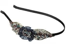 beaded headband leaf filigree beaded headband ulta beauty