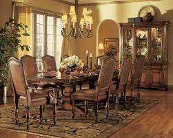 welcoming and sophisticated american dining room decoration