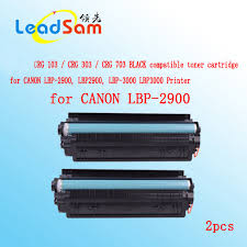 Toner Canon Lbp 2900 2pcs crg103 crg303 crg703 compatible black toner cartridge for