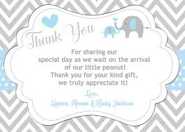 baby shower thank you cards best 25 baby shower thank you ideas on baby shower