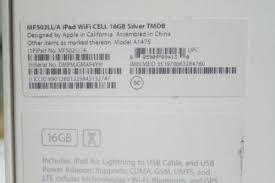 apple ipad air 16gb wi fi 4g white t mobile mf502ll new