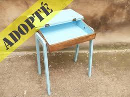 bureau repeint bureau pupitre ancien adopte un meuble