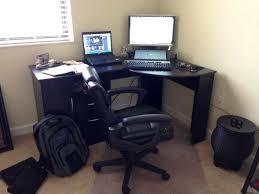 black corner computer desk black corner computer desk for home dlrn design beadboard