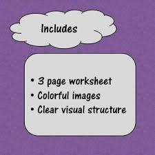 cut and paste emotion with picture worksheet by special needs for