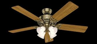 antique brass ceiling fan 53063 the studio series 52 inch antique brass ceiling fan with 5