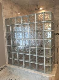 glass block designs for bathrooms glass block shower installation glass blocks st louis